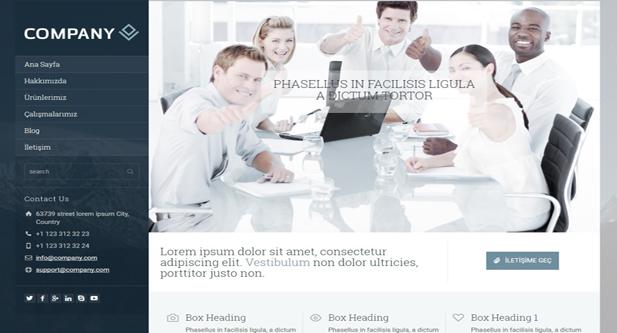 red responsive wordpress web hosting theme